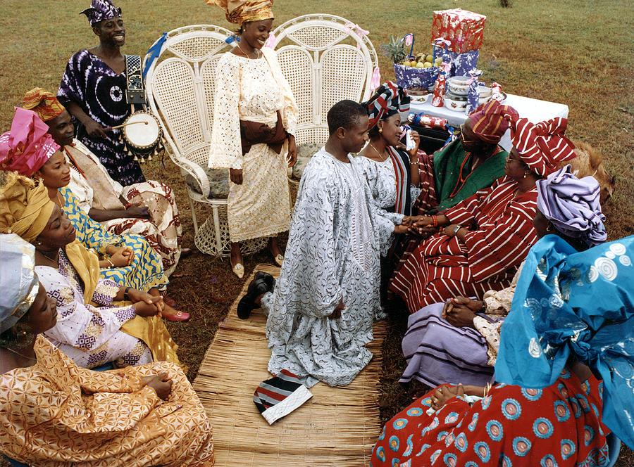 Yoruba Conventional Engagement Record ( Eru Iyawo) yoruba wedding fabwoman