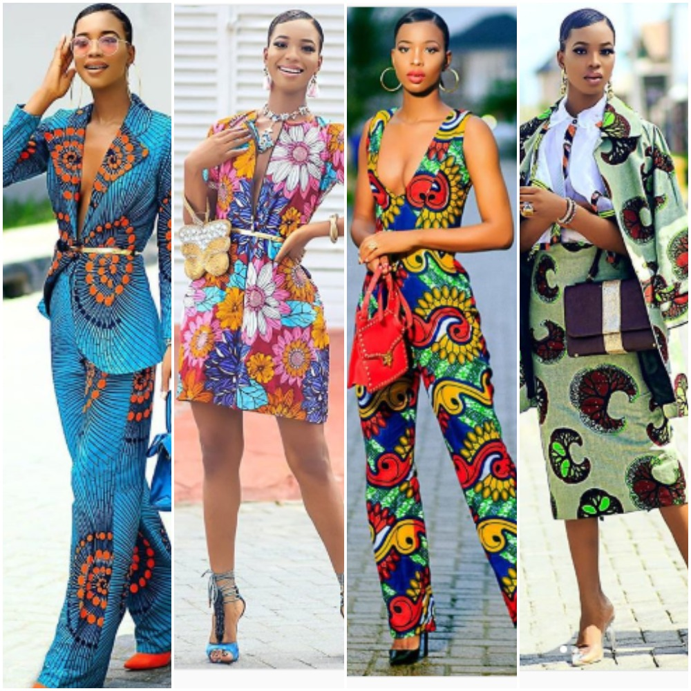 Let These 13 Photos Of Style Influencer, Angel Obasi Inspire Your Next Ankara Style