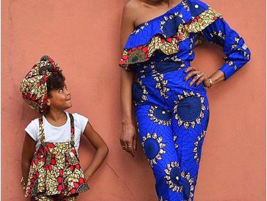Ankara For Mom and Daughter