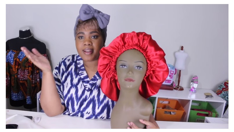 How To Make Your Own Satin Bonnet At Home