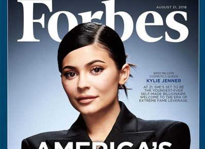 """Kylie Jenner America's youngest """"self-made"""" billionaire"""