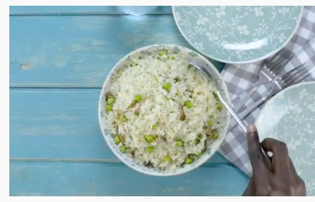 mushroom and coconut rice recipe