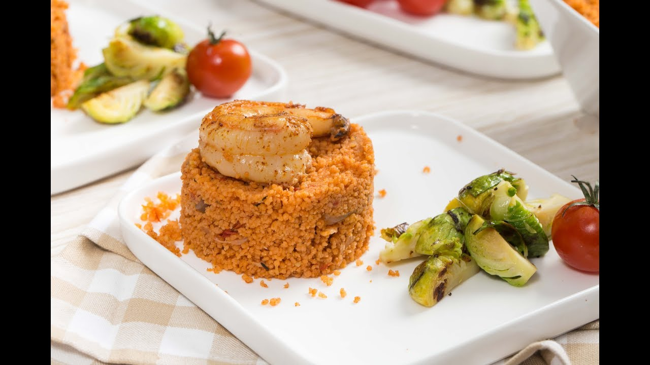 prawn cous cous jollof recipe