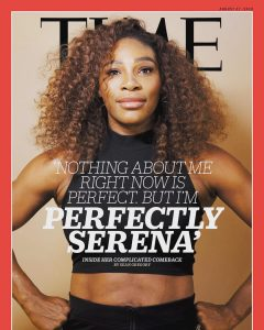 Serena Williams Talks Motherhood Struggles As She Covers Time Magazine's Latest Issue