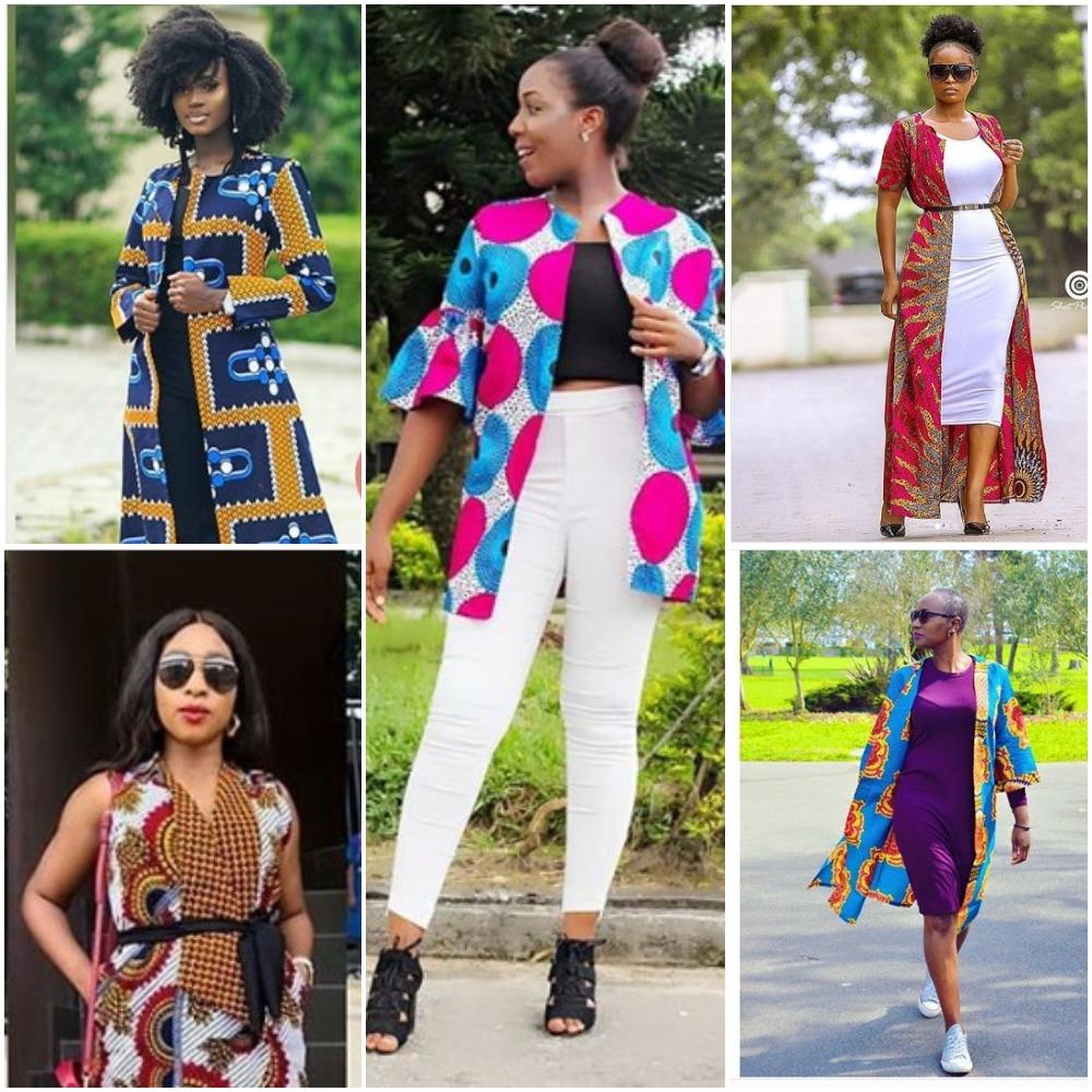 Latest Ankara Kimono Jackets Styles 2018 Photos Fabwoman