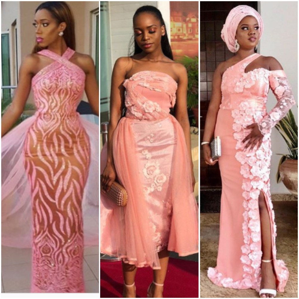 Owambe-Ready! 9 Pastel Pink Aso Ebi Styles To Inspire Your Weekend Look