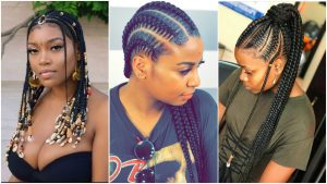 7 Chic Ghana-Weaving Hairstyles To Take Back To Work