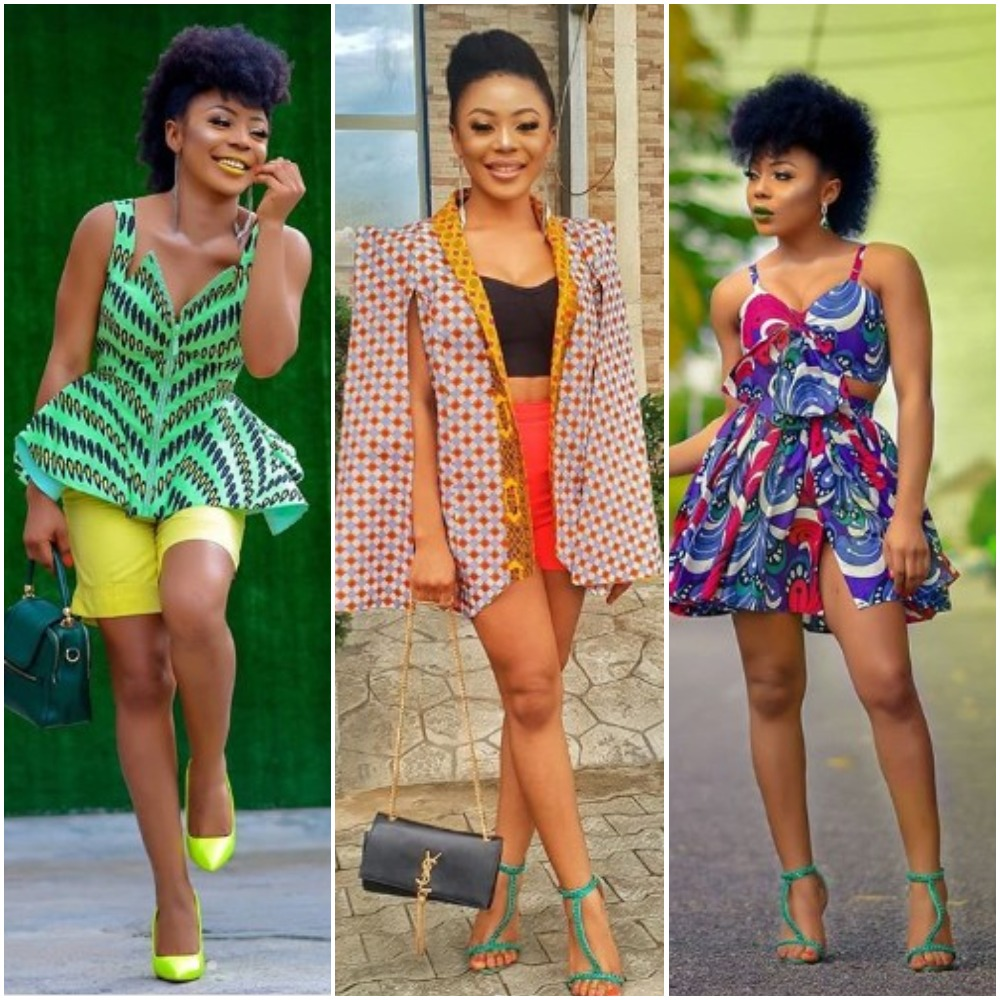 BBN Star, Ifu Ennada Knows How To Rock Ankara And These 7 Photos Are Proof