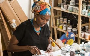 7 Things You Should Know About Nigerian Visual Artist, Njideka Akunyili Crosby