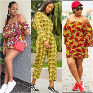 10 Trendy Ways To Slay The Ankara and Sneakers Look