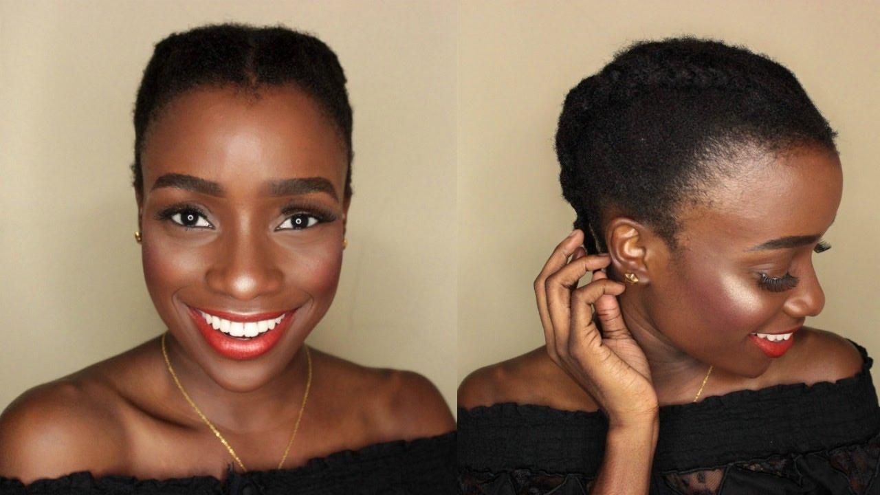 4c Natural Hair Simple Hairstyles Photos Fabwoman