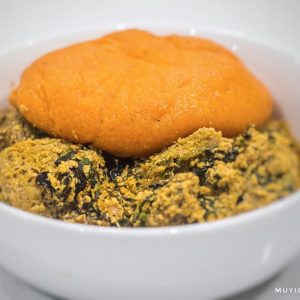 Prepare A Healthy Plate Of Carrot Fufu With Just 2 Ingredients