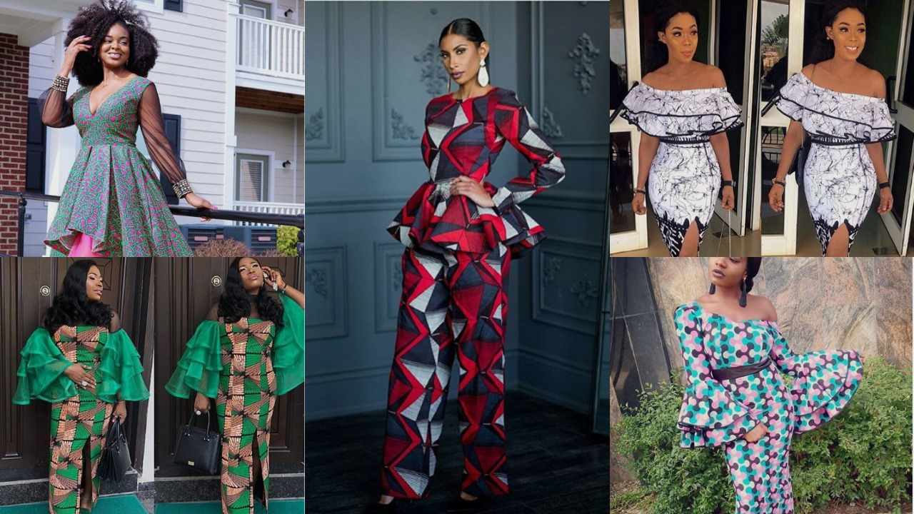 Storm That Wedding This Weekend With These Glamorous Ankara Styles