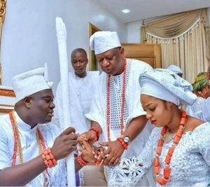 See Reactions From Twitter About Ooni Of Ife's New Wife, Olori Naomi Shilekunola