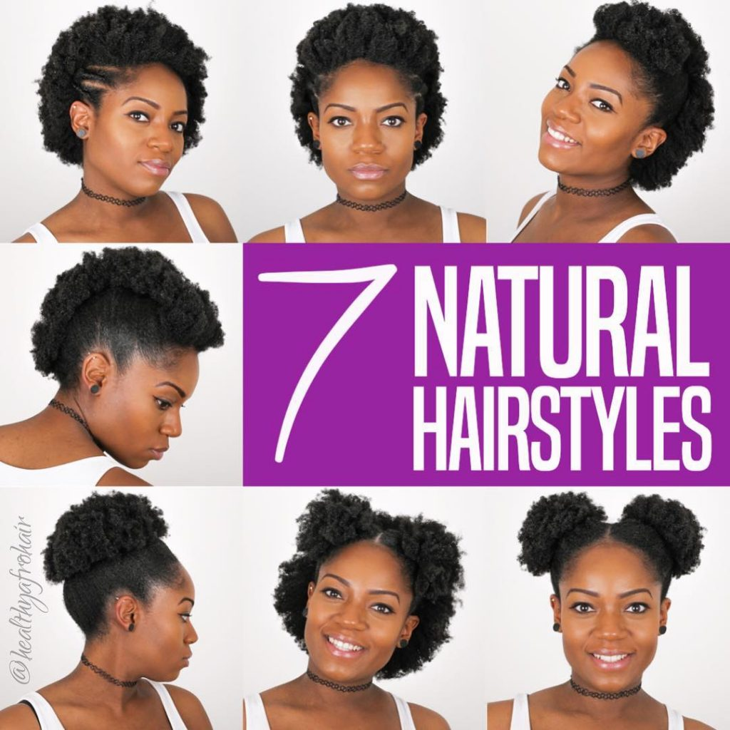 Easy Natural Hairstyles For 4c Hair Nigeria Fabwoman News Style