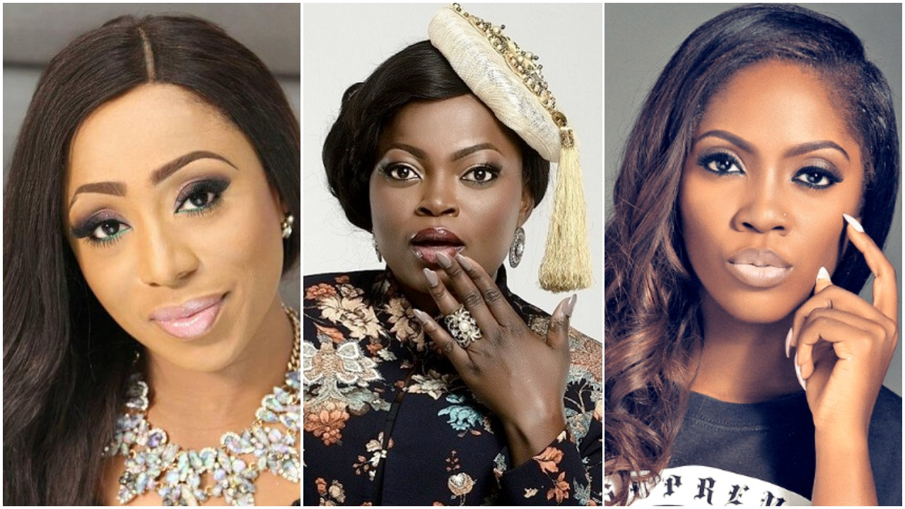 From Tiwa Savage To Funke Akindele See All The Women Who Won Big At The 2018 Nigerian Entertainment Awards