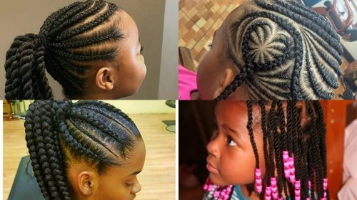 Latest Hairstyles For Nigerian Children This Christmas
