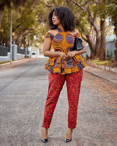 Ankara Pants Are Nice For That Stylish Woman Vibe And Right here Are 10 Methods To Rock Them ankara pant style 11