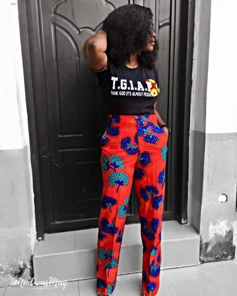 Ankara Pants Are Nice For That Stylish Woman Vibe And Right here Are 10 Methods To Rock Them ankara pants 4