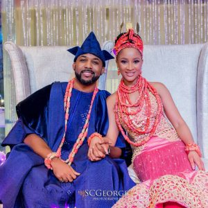 Adesua Etomi Pens Heartwarming Message To Banky W As They Celebrate 1st Year Wedding Anniversary