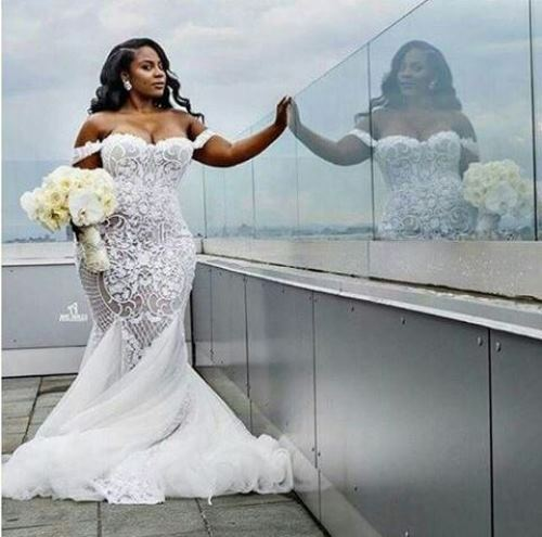 Are You Plus Size? Let These 10 Gorgeous Wedding Gown Inspire The Look For Your 'Big Day'