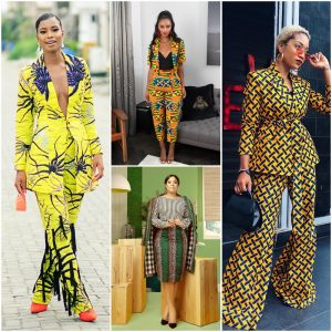 7e3ab6109c8 2018 was a year where many women went bold with their fashion and style   one of which is the African Print suit.