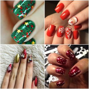 Let Your Nails Speak Christmas With These 10 Classy Art Designs