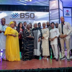 Nigeria's First Lady, Aisha Buhari Honours Nigerian Celebrities