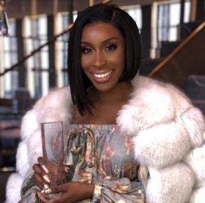 Jackie Aina Breaks Barriers As She Wins 'Beauty Influencer Of The Year' At WWD Beauty Inc Awards