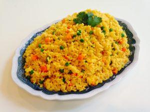 How To Put PrepareTurmeric Rice Turmeric rice recipe 2 300x225
