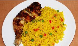 How To Put PrepareTurmeric Rice Turmeric rice recipe 3 300x177