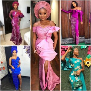 Step Into That Owambe Looking Fabulous With These Beautiful 11 Aso Ebi Styles