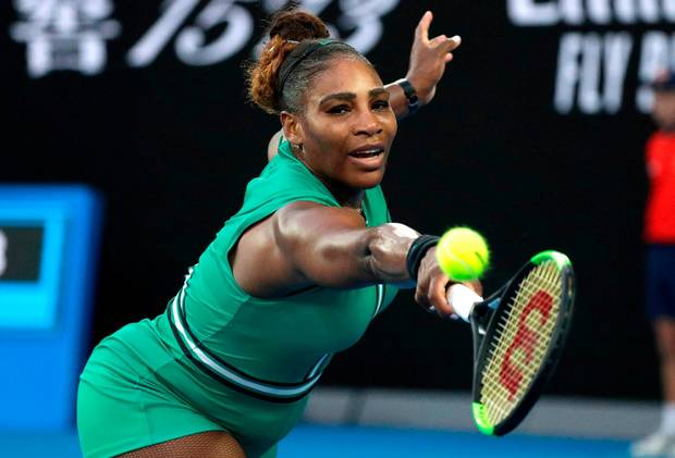 You Need To Watch These Epic Moments From Serena William's Australian Open Match