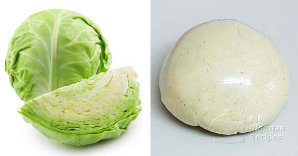 Cabbage Fufu Recipe   Video Tutorial cabbage fufu