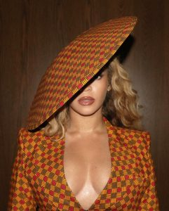 Beyonce Gave Us The Girl Boss Look In This African Print Inspired Outfit