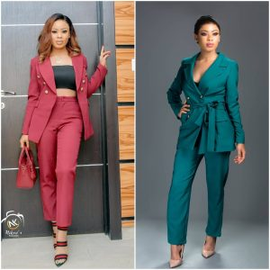 Learn How To Style Blazers In Different Ways As Seen On Nina