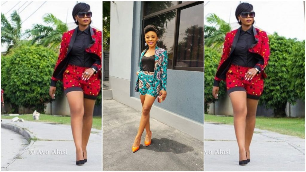 10 Chic Ways To Style Your Ankara Shorts