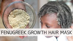 Want Longer,Healthier & Shinier Hair? Try This Fenugreek Growth Mask