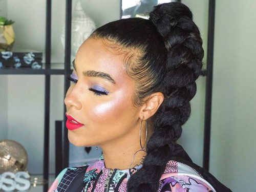 Take A Break From The Salon With This 5-Minute Fishtail Braids Hairstyle