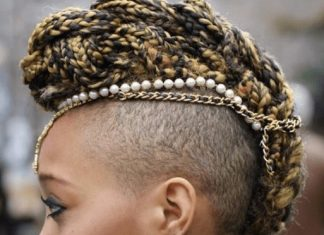edgy braided mohawk hairstyles fabwoman