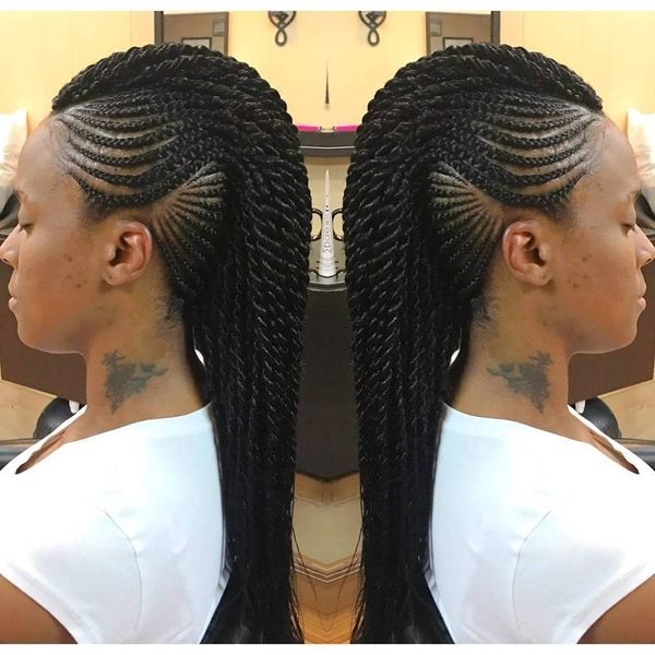 Edgy Braided Mohawk Hairstyles | Photos | FabWoman