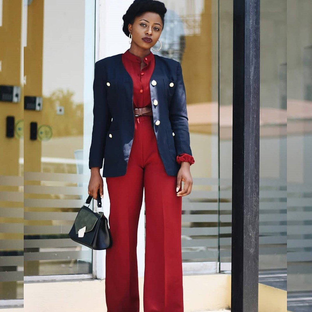 Stay Fashionable At Work With These Styles By Blogger, Sarah Audu