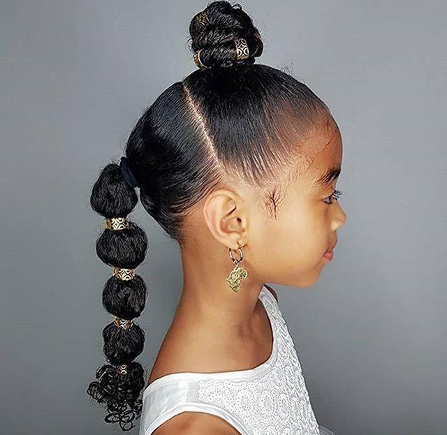 Wedding Hairstyles For Black Little Girls: Wedding Hairstyles For Little Girls