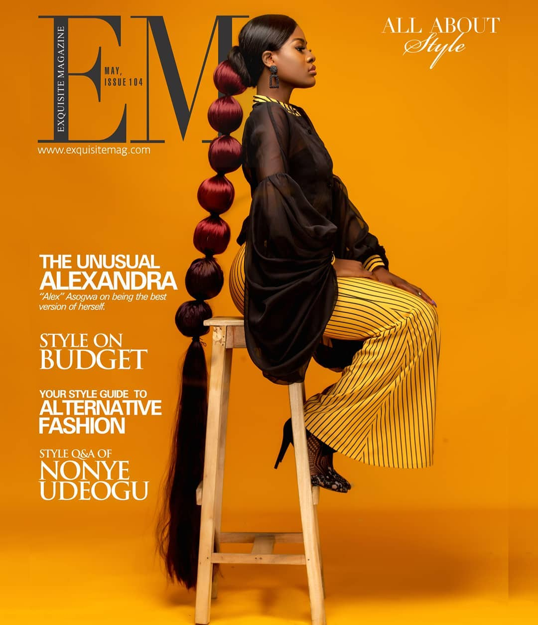 Alex Unusual Covers Exquisite Magazine S Latest Issue