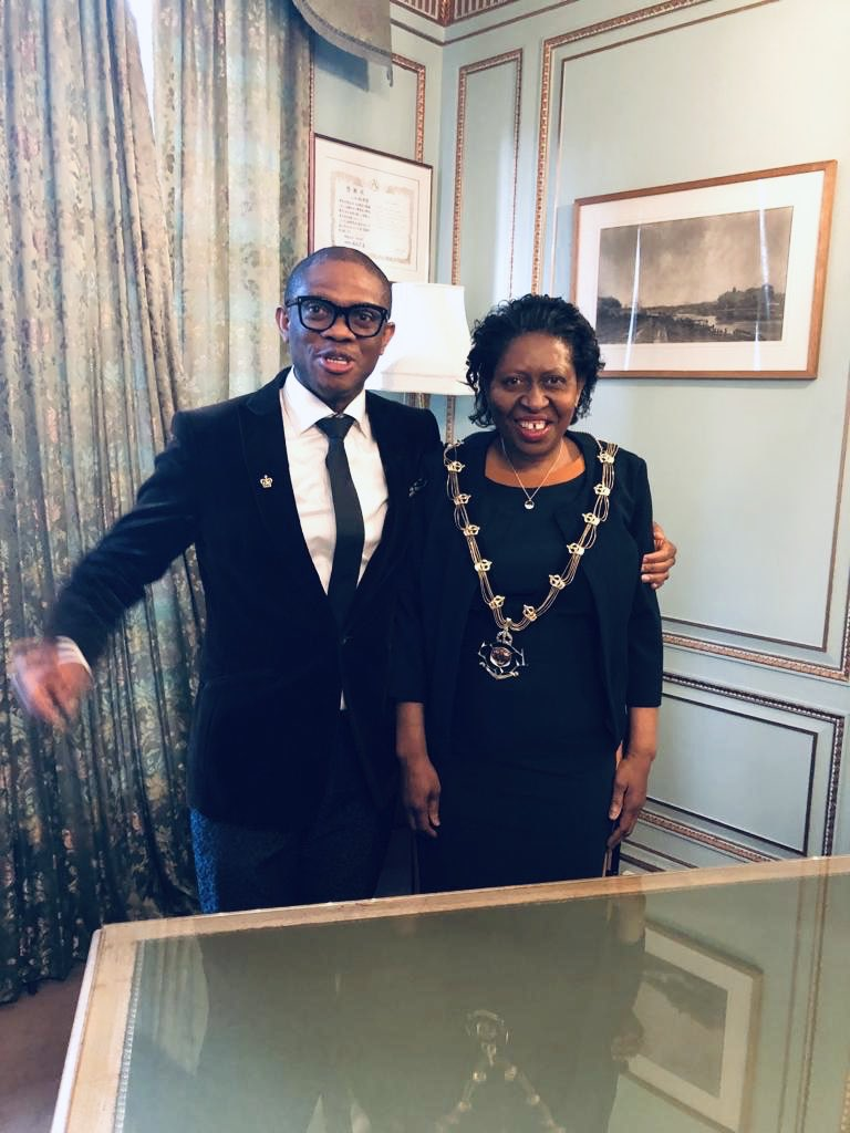 Nigerian Woman Emerges as first African Heritage Female Sheriff of Nottingham