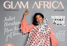 juliet ibrahim glam africa july