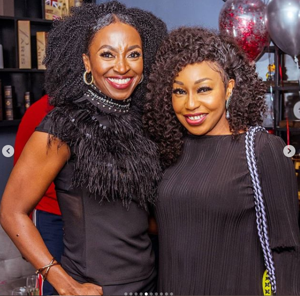 All The Photos From Actress Kate Henshaw's Birthday Party In Lagos