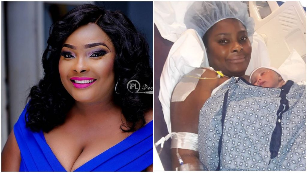 Congratulations Are In Order As Actress, Ronke Odusanya Welcomes Her First Child