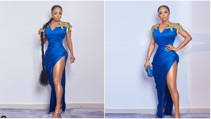 Toke Makinwa Looked Every Inch Like Royalty At The 2019 Headies