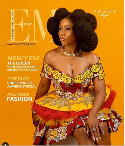 Mercy, The Queen Of Highlights Graces Cover Of Exquisite Magazine November Issue And The Photos Are Breathtaking